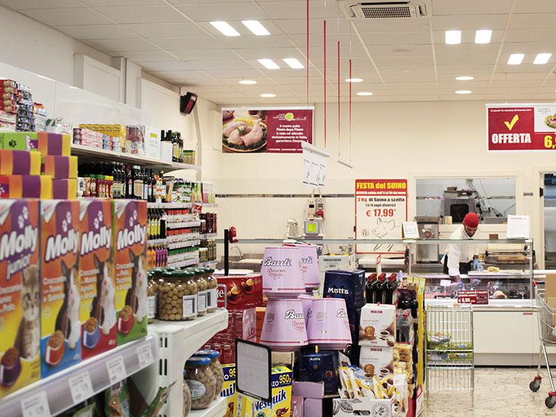 G g hatria supermercati atri te livelli di luce